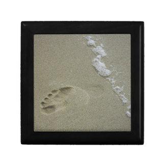 Footprint and Foam Jewelry Box