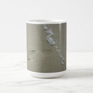 Footprint and Foam Mug