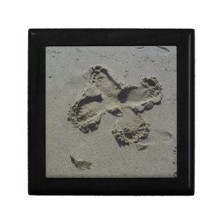 Footprint Butterfly Keepsake Box