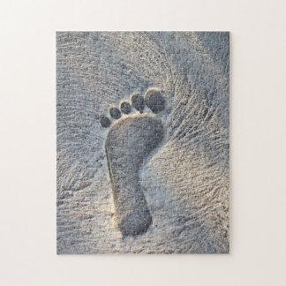 Footprint Impression - Jigsaw Puzzle