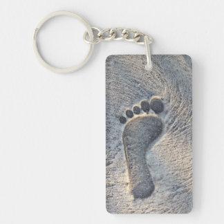 Footprint Impression - Keychain
