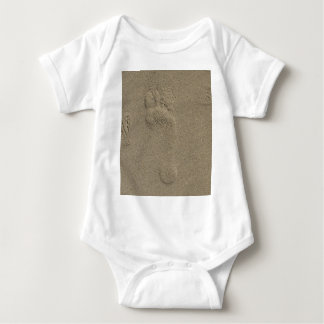 Footprint in the Sand Photography Art T-shirt