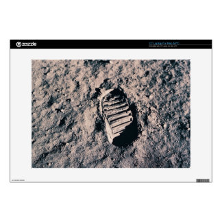 Footprint on Lunar Surface Decal For Laptop