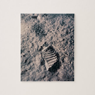 Footprint on Lunar Surface Jigsaw Puzzle
