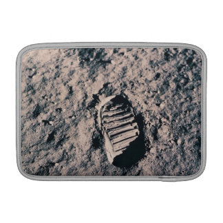Footprint on Lunar Surface MacBook Sleeve