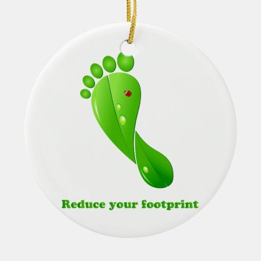 Footprint ornament