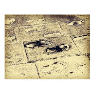 Footprint Postcards