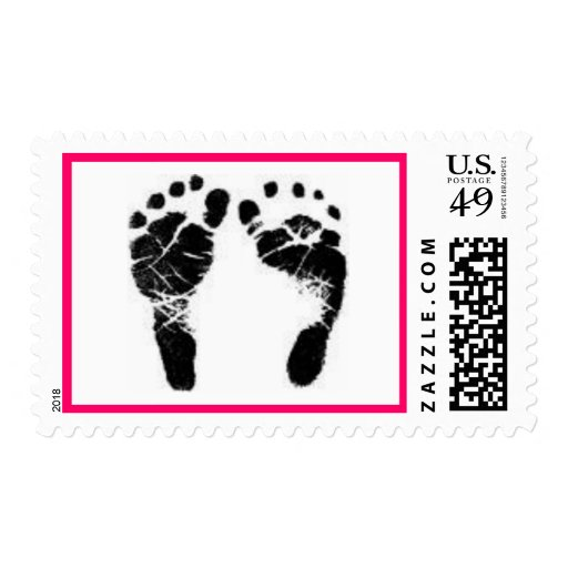 footprint stamp