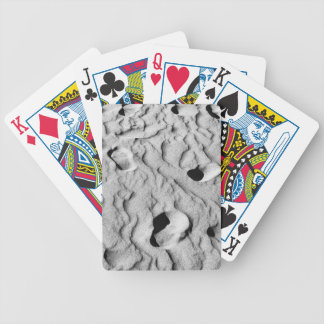 Footprints and Memories Bicycle Playing Cards
