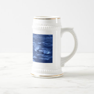 Footprints at the South Pole 18 Oz Beer Stein