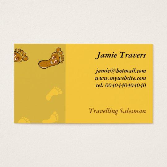 Footprints Business Card