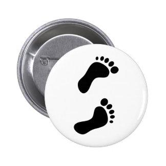 Footprints Button