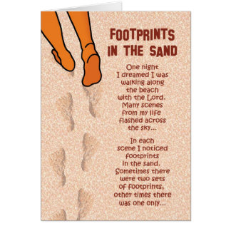 Footprints Card