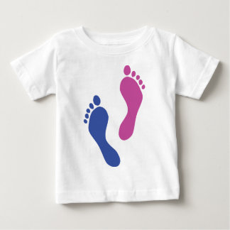footprints colored baby T-Shirt