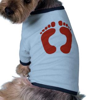 Footprints Dog Clothing