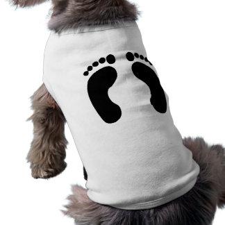 Footprints Dog Tee Shirt