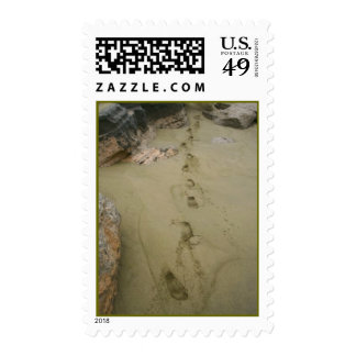 Footprints in Sand Stamps