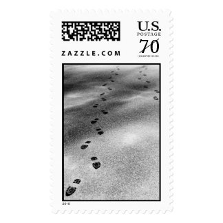 Footprints in Snow – Large stamp