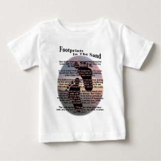 Footprints in the Sand Baby T-Shirt