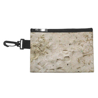 Footprints in the sand accessory bag