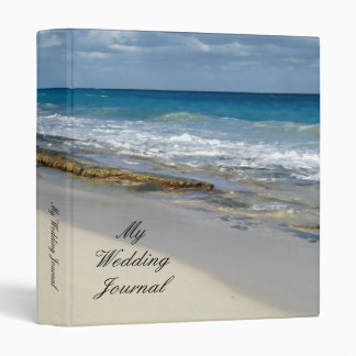 Footprints in the sand 3 ring binder