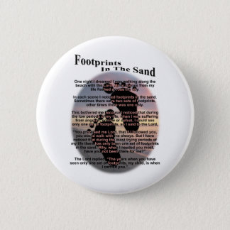 Footprints in the Sand Button