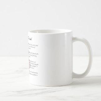 Footprints In The Sand Classic White Coffee Mug