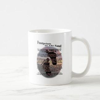 Footprints in the Sand... Coffee Mug