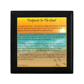 Footprints in the Sand Gift Boxes