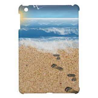 Footprints in the Sand Cover For The iPad Mini