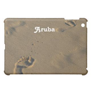 Footprints in the Sand iPad Mini Cases
