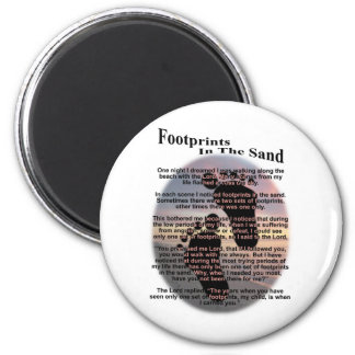 Footprints in the Sand... Magnets
