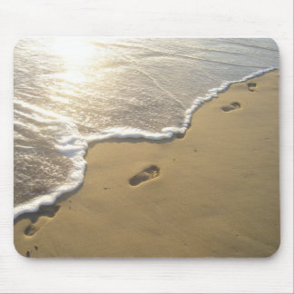 Footprints in the Sand Mousepads