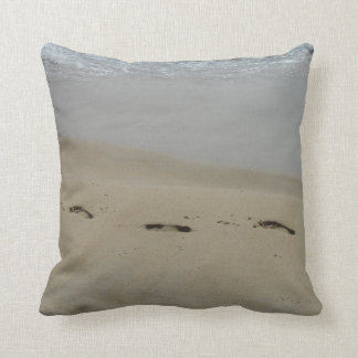 Footprints in the Sand Pillows