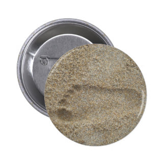 Footprints in the Sand Pinback Button