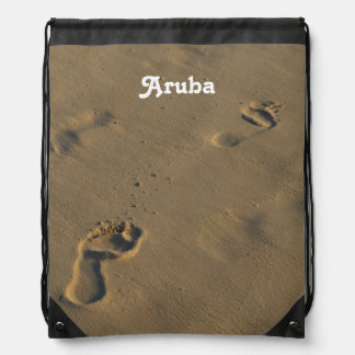 Footprints in the Sand Backpacks