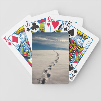 Footprints in the sand deck of cards