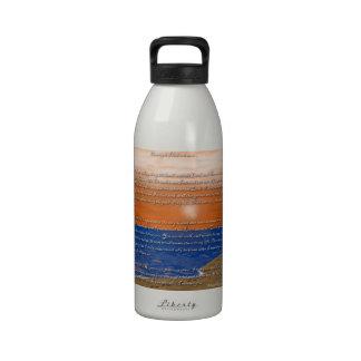 Footprints in the Sand Poem Reusable Water Bottles