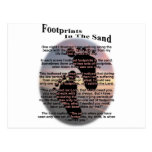 Footprints in the Sand... Postcards