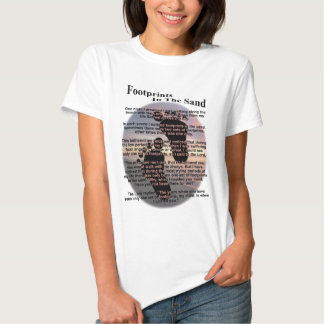 Footprints in the Sand... T Shirt