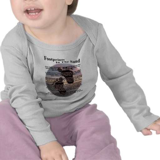 Footprints in the Sand... Tee Shirts