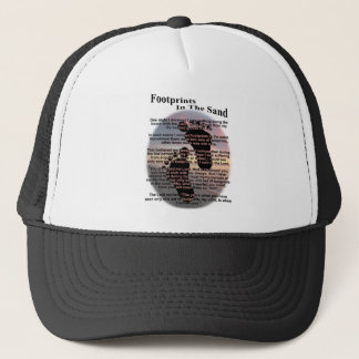 Footprints in the Sand Trucker Hat