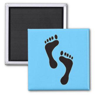 Footprints Magnet