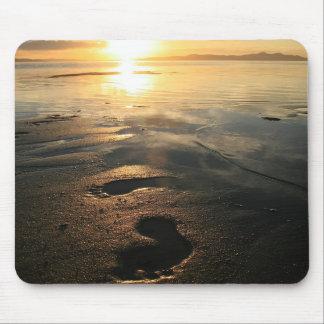 Footprints Mousepad