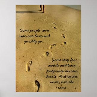 Footprints of Love Poster