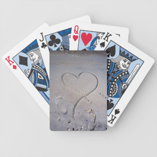 Footprints of the Heart Bicycle Card Deck