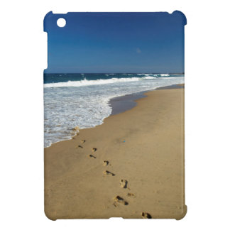Footprints On Beach, Mabibi, Thongaland iPad Mini Cover