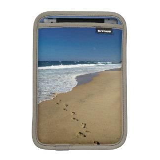 Footprints On Beach, Mabibi, Thongaland Sleeve For iPad Mini