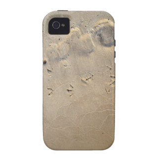footprints on the beach case for the iPhone 4