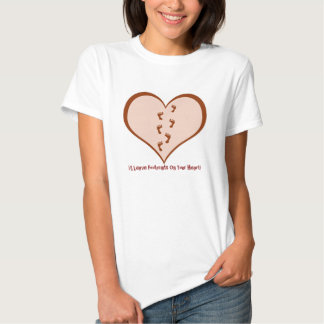Footprints On Your Heart T-Shirt